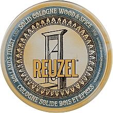 Духи, Парфюмерия, косметика Твердый одеколон после бритья - Reuzel Wood & Spice Solid Cologne Balm