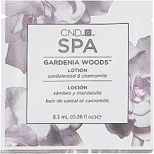 Духи, Парфюмерия, косметика Увлажняющий лосьон для рук - CND Spa Gardenia Woods Lotion (пробник)