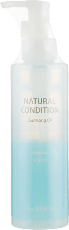 Масло гидрофильное для глубокого очищения кожи - The Saem Natural Condition Cleansing Oil Deep Clean