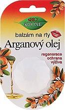 Парфумерія, косметика Бальзам для губ із арганієвою олією - Bione Cosmetics Argan Oil Vitamin E Lip Balm