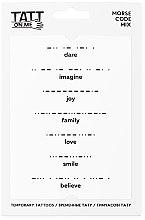 Духи, Парфюмерия, косметика Временные тату - TATTon.me Morse Code Mix Set