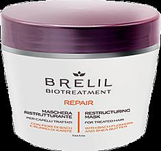 Духи, Парфюмерия, косметика Маска восстанавливающая - Brelil Bio Treatment Repair Mask
