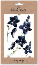 Духи, Парфюмерия, косметика Акварельные переводные тату - Miami Tattoos Black Orchid