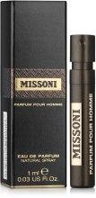 Духи, Парфюмерия, косметика Missoni Parfum Pour Homme - Парфюмированная вода (пробник)