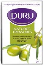 Духи, Парфюмерия, косметика Увлажняющее крем-мыло с оливковым маслом - Duru Natures Treasures