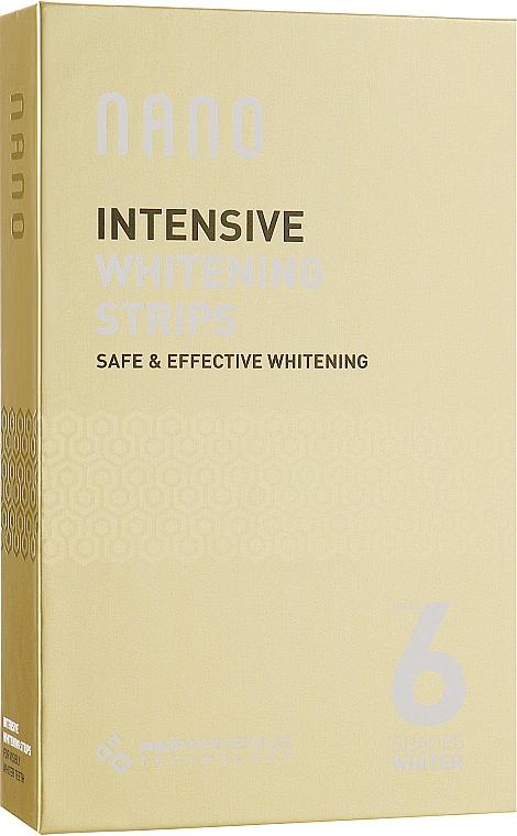 Интенсивно отбеливающие полоски - WhiteWash Laboratories Nano Intensive Whitening Strips Set