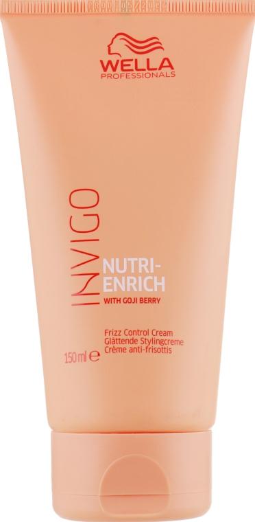 Крем для непослушных волос - Wella Professionals Invigo Nutri-Enrich Frizz Control Cream
