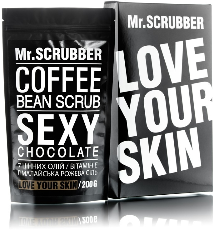 Кофейный скраб для тела - Mr.Scrubber Sexy Chocolate Scrub
