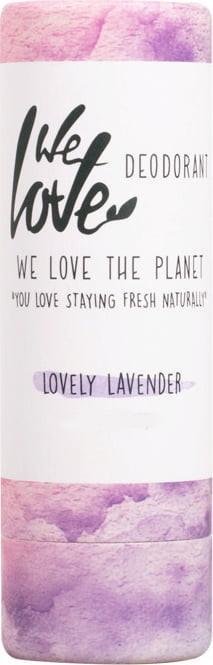 Твёрдый дезодорант с экстрактом лаванды - We Love The Planet Lovely Lavender Deodorant