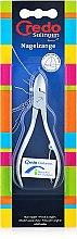 Духи, Парфюмерия, косметика Кусачки для ногтей с круглыми концами, матовый хром - Credo Solingen