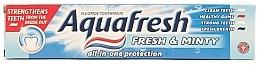 Духи, Парфюмерия, косметика Зубная паста - Aquafresh All In One Protection Fresh & Minty Toothpaste