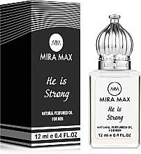 Духи, Парфюмерия, косметика Mira Max He Is Strong - Парфюмированное масло