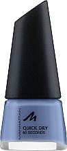Духи, Парфюмерия, косметика Лак для ногтей - Manhattan 60 Seconds Nail Polish Quick Dry