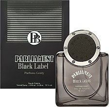 Духи, Парфюмерия, косметика Parfums Genty Parliament Black Label - Туалетная вода (тестер без крышечки)