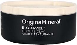 Духи, Парфюмерия, косметика Глина для укладки волос - Original & Mineral K-Gravel Texture Clay