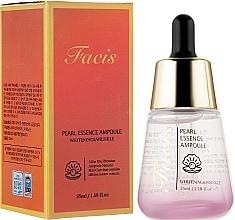 Духи, Парфюмерия, косметика Сыворотка для лица с эстрактом жемчуга - Facis Pearl Essence Ampoule