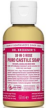 "Духи, Парфюмерия, косметика Жидкое мыло ""Роза"" - Dr. Bronner's 18-in-1 Pure Castile Soap Rose"