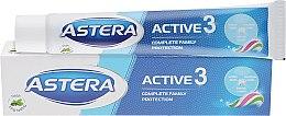 """Духи, Парфюмерия, косметика Зубная паста """"Тройное действие"""" - Astera Active 3 Toothpaste"""