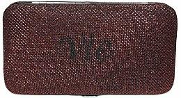 Духи, Парфюмерия, косметика Кейс для пинцетов для наращивания ресниц, бордовый - Vie De Luxe