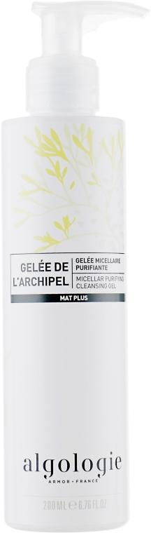 Мицеллярный очищающий гель - Algologie Micellar Purifying Cleansing Gel