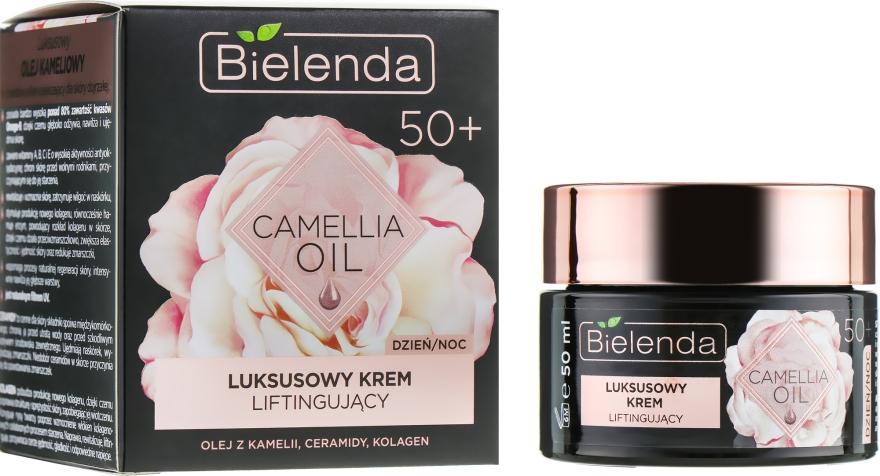 Лифтинг-крем против морщин 50+ - Bielenda Camellia Oil Luxurious Lifting Cream 50+