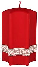 "Духи, Парфюмерия, косметика Декоративная свеча ""Звезда"", красная, 9х14см - Artman Crystal Opal Pearl"