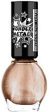 Духи, Парфюмерия, косметика Лак для ногтей - Miss Sporty Wonder Metal