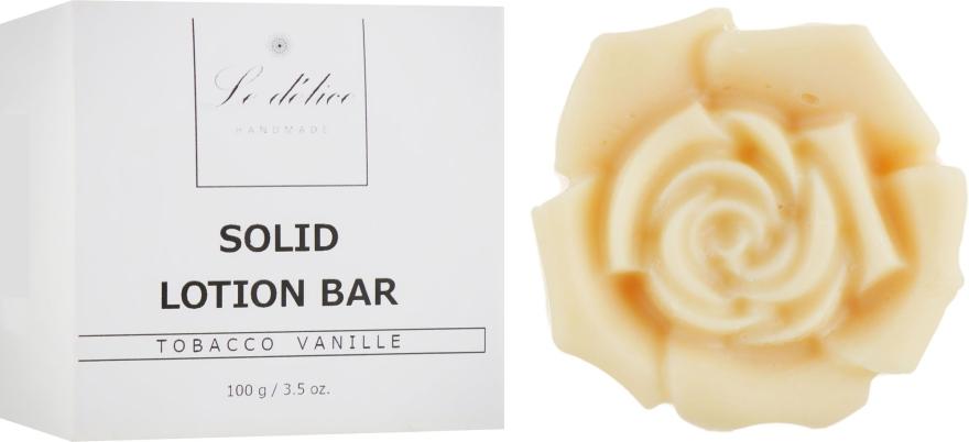 Натуральный твердый лосьон для тела - Le Delice Solid Lotion Bar Tobacco Vanille