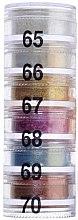 Духи, Парфюмерия, косметика Тени рассыпчатые пирамида 6 цветов - Cinecitta Pyramid Powder Eye Shadows №65-70