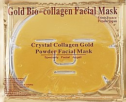 """Маска для лица с коллагеном """"Золотая"""" - Beauty Line Gold Bio-Collagen Facial Mask — фото N3"""
