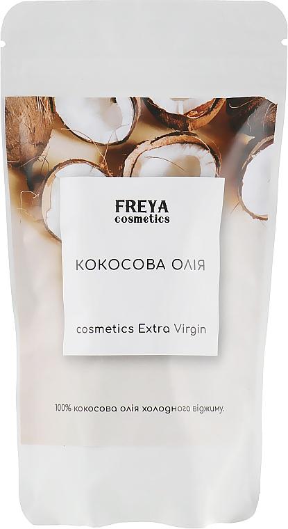 """Кокосовое масло """"Extra Virgin"""", дой-пак - Freya Cosmetics"""