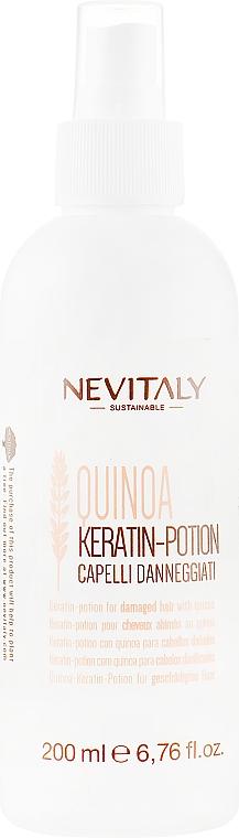 Крем-спрей для волос с кератином для поврежденных волос - Nevitaly