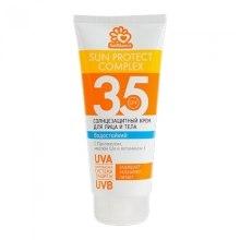 Духи, Парфюмерия, косметика Солнцезащитный, водостойкий крем для лица и тела SPF 35 - Solbianca Sun Protect Complex