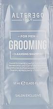 Духи, Парфюмерия, косметика Освежающий шампунь для волос - Alter Ego Grooming Cleansing Shampoo (пробник)