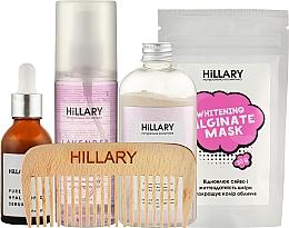 Парфумерія, косметика Набір - Hillary Gentle Care (ser/30ml + ubtan/50g + mask/30g + mist/120ml + mirror)