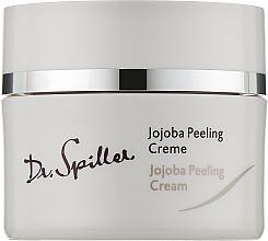 Духи, Парфюмерия, косметика Крем-пилинг с гранулами жожоба - Dr. Spiller Jojoba Peeling Cream