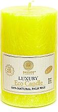 Духи, Парфюмерия, косметика Свеча из пальмового воска, 12.5 см, желтая - Saules Fabrika Luxury Eco Candle