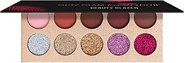 Духи, Парфюмерия, косметика Палетка теней для век, 10 цветов - Beauty Glazed Glitz Glam Eyeshadow Palette
