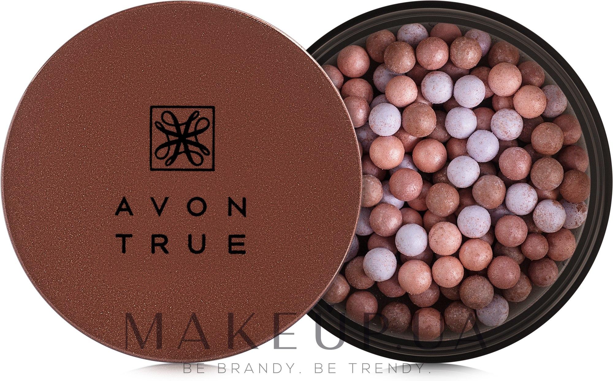 Румяна-шарики - Avon True Blush Pearls — фото Bronze Bright