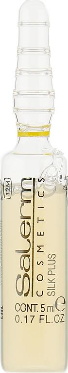 Засіб для захисту волосся і шкіри - Salerm Silk Plus — фото N2