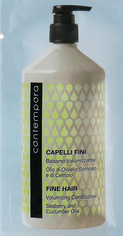 Кондиционер для объема - Barex Italiana Contempora Fine Hair Volumizing Conditioner (пробник)