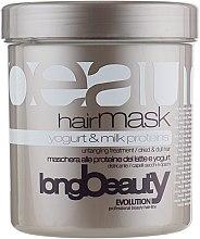 Духи, Парфюмерия, косметика Маска для волос с молочными протеинами - Beauty Long Yogurt & MIlk Protein Hairmask