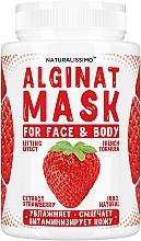 Духи, Парфюмерия, косметика Альгинатная маска с клубникой - Naturalissimoo Strawberry Alginat Mask