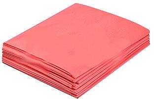 Простыни из спанбонда, в пачках, 0,6х2м, 10шт, красные - Doily