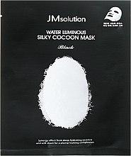 Духи, Парфюмерия, косметика Маска тканевая - JMsolution Water Luminous Silky Cocoon Mask Black