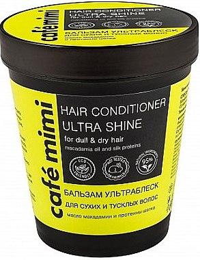 """Бальзам """"Ультраблеск"""" для сухих и тусклых волос - Cafe Mimi Hair Conditione Ultra Shine"""