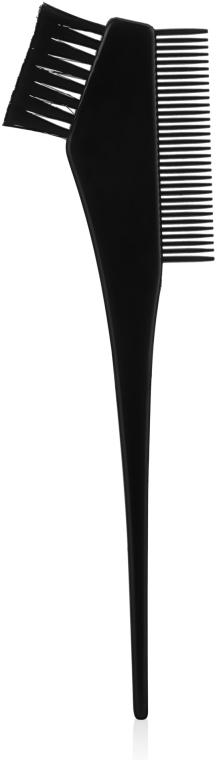 Кисточка для окрашивания волос с расческой, малая - Tico Professional