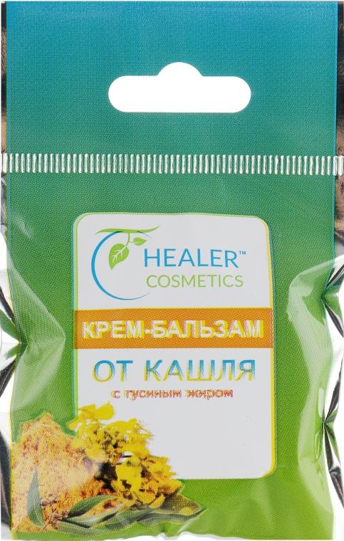 Крем-бальзам от кашля с гусиным жиром - Healer Cosmetics