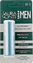 Духи, Парфюмерия, косметика Бальзам для губ, мужской - Laura Conti For Men Protective Lip Balm