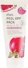 """Маска-пленка для лица """"Гранат"""" - Ekel Pomegranat Peel Of Pack — фото N2"""
